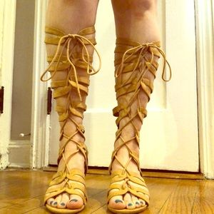 Gladiator Sandals with small wedge